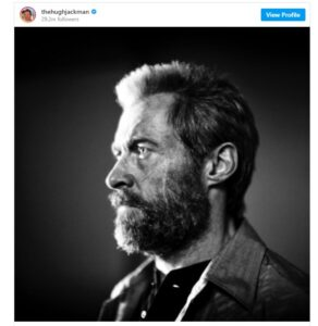 Logan beard hugh jackman