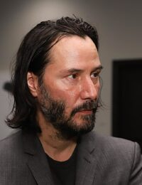 Keanu Reeves Beard:  It's Patchy And Great