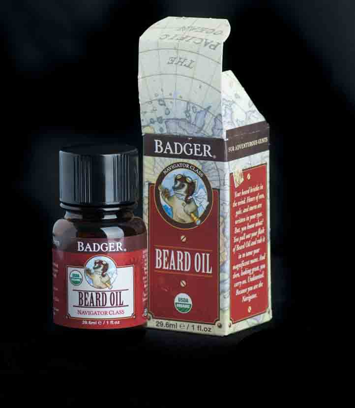 Badger beard oil