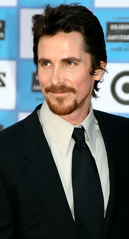 Christian Bale with Van Dyke beard