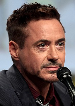 Robert Downey Van Dyke beard