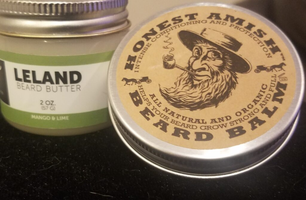 Beard butter by Detroit Grooming and Honest Amish