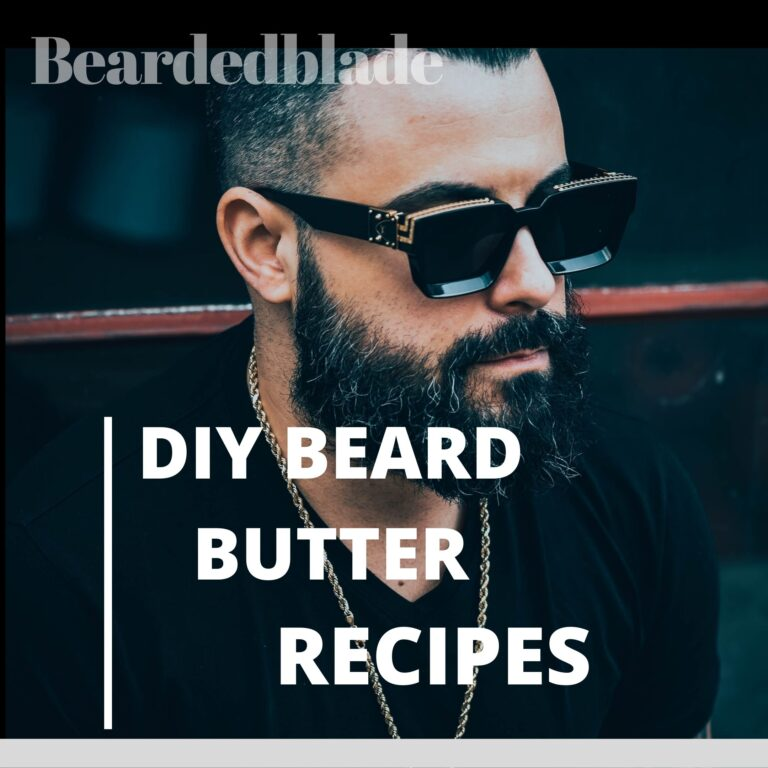 Man with beard: beard butter recipes